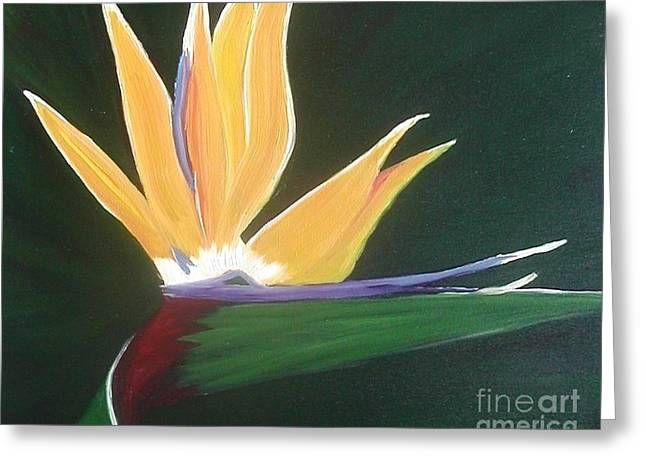 Passion Unfolding 3 Greeting Card by Lori Jacobus-Crawford