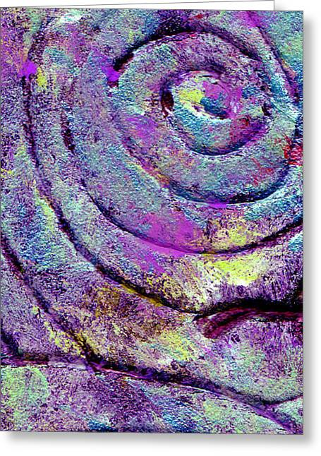 Passionate Swirl Greeting Card
