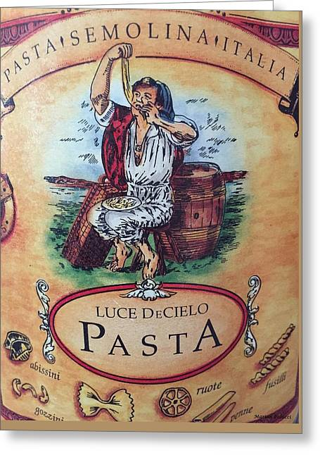Pasta Greeting Card