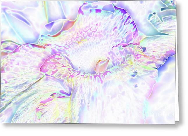 Pastel Cascade Greeting Card