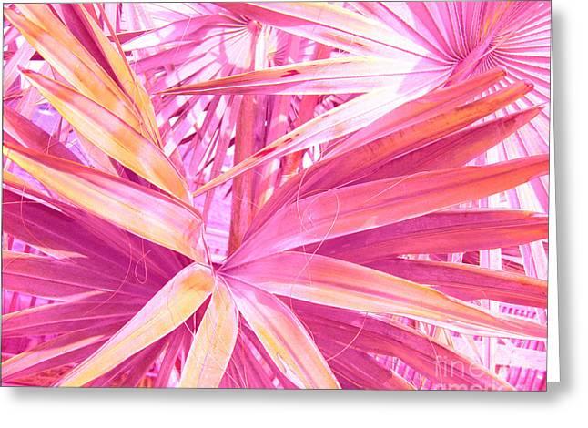 Pastel Dream In Pink Greeting Card by Susanne Van Hulst