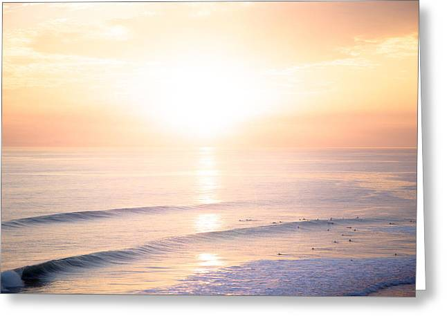 Pastel Horizon Greeting Card by Collin O'Rourke