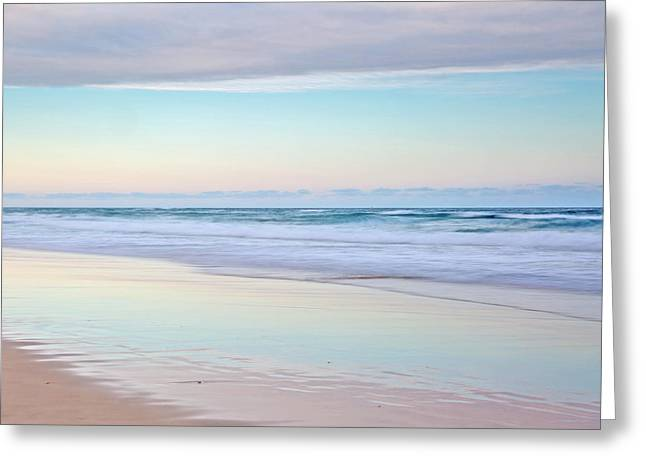 Pastel Reflections Greeting Card