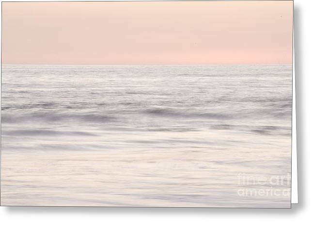 Pastel Seascape Greeting Card by Juli Scalzi