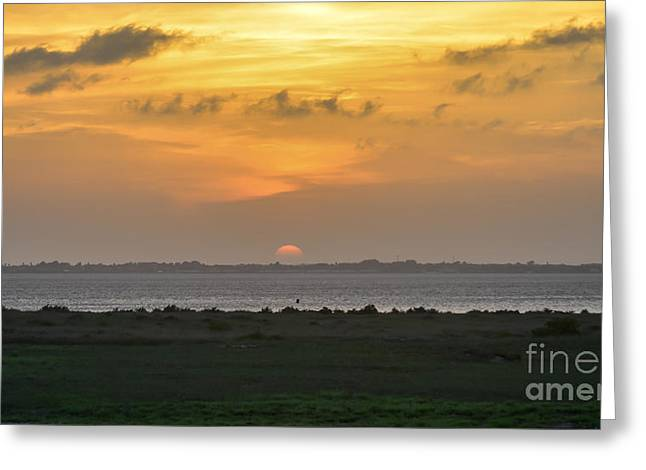 Greeting Card featuring the photograph Pastel Sky by Debra Martz