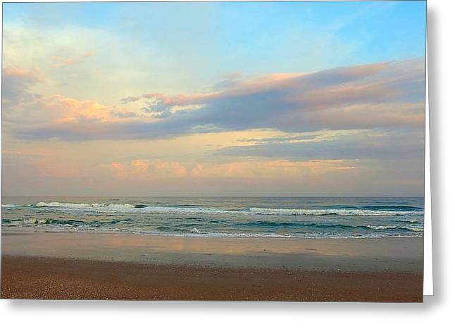 Pastel Sunrise Greeting Card by Betty Buller Whitehead