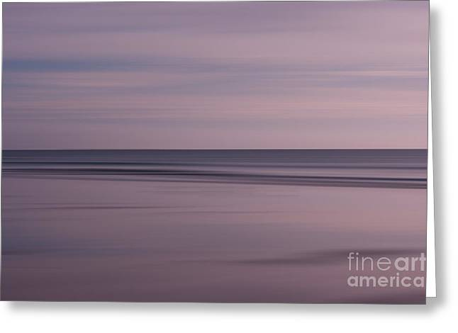 Pastel Sunrise Greeting Card by Michelle Stevens