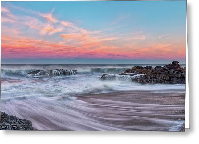 Pastel Sunrise Greeting Card