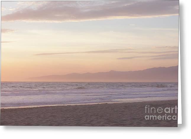 Pastel Sunset Greeting Card