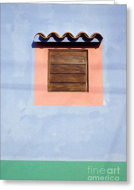 Greeting Card featuring the photograph Pastel Wall Gran Roque Venezuela by John  Mitchell