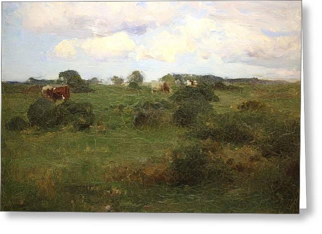 Pastoral Landscape  Greeting Card