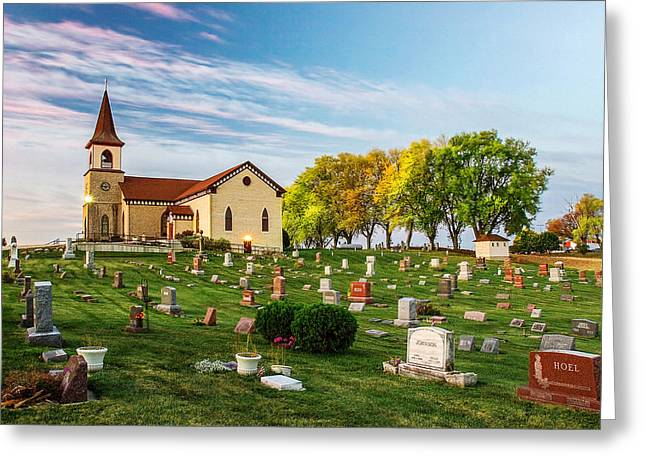 Pastoral Morn Greeting Card