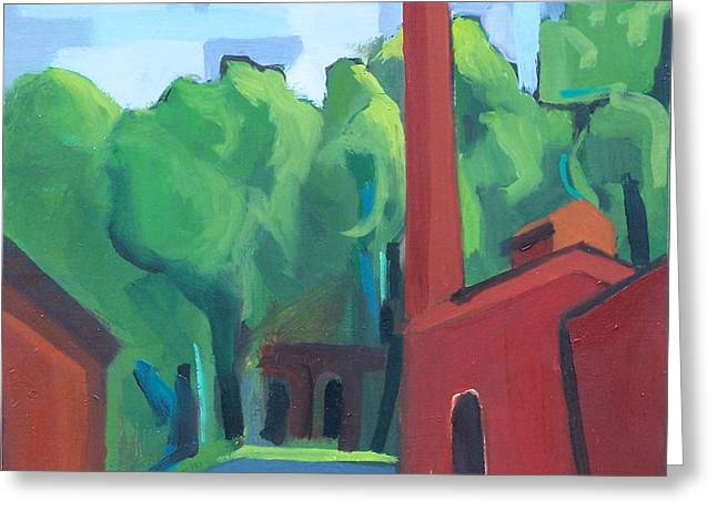 Paterson Mill Greeting Card