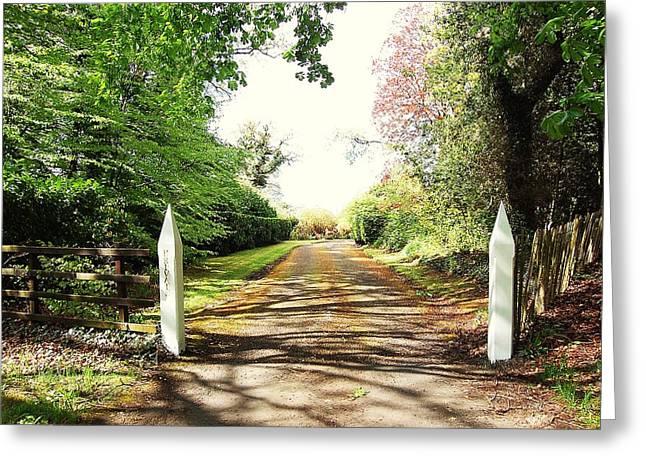 Path Ahead Greeting Card