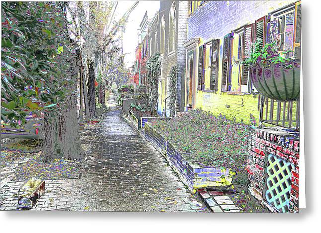 Greeting Card featuring the photograph Path Beyond by EDi by Darlene
