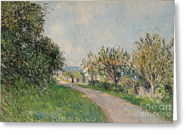 Path Near Sevres Greeting Card