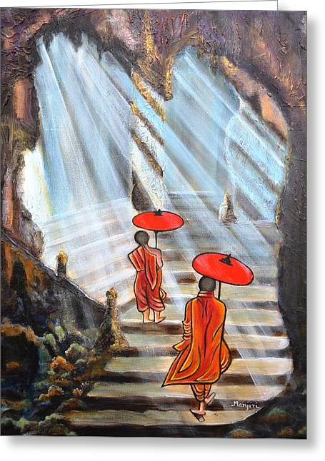 Path To Enlightenment Greeting Card