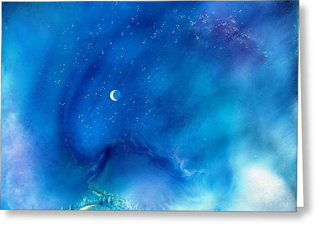 Path Of The Morning Star Greeting Card by Lee Pantas