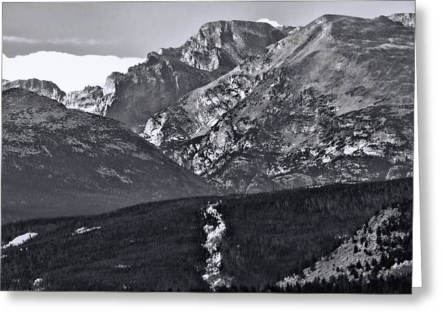 Greeting Card featuring the photograph Path To Longs Peak by Dan Sproul