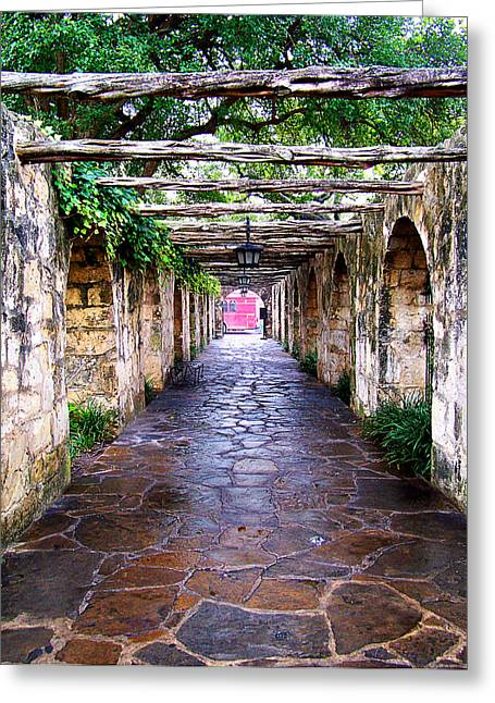 Path To The Alamo Greeting Card