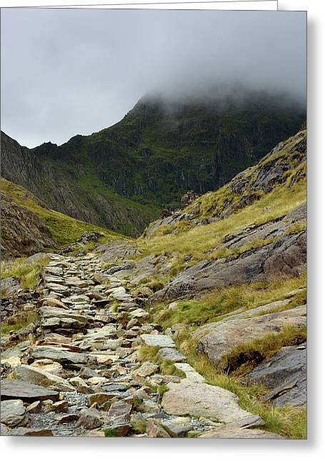 Path To The Mountains Greeting Card