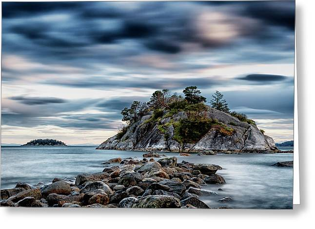 Path To Whyte Island Greeting Card
