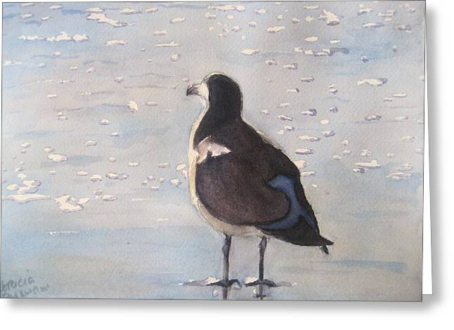 Patience Greeting Card by Patricia Pushaw