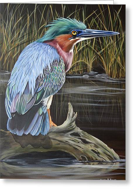 Patience Greeting Card by Phyllis Beiser