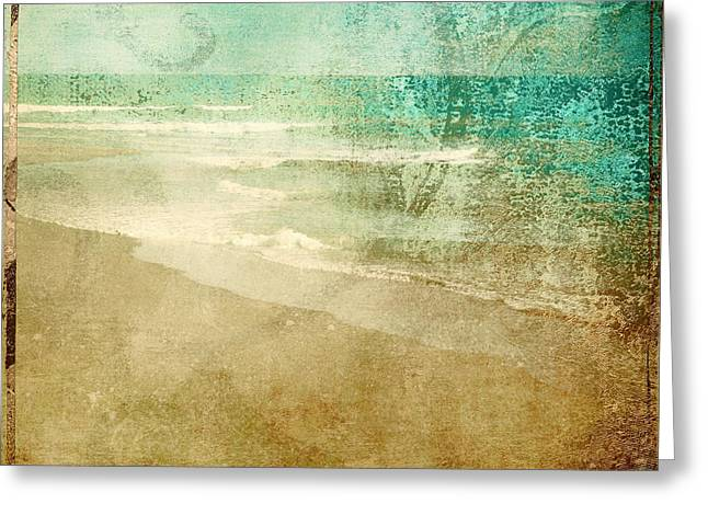 Patina Greeting Card by Mindy Sommers