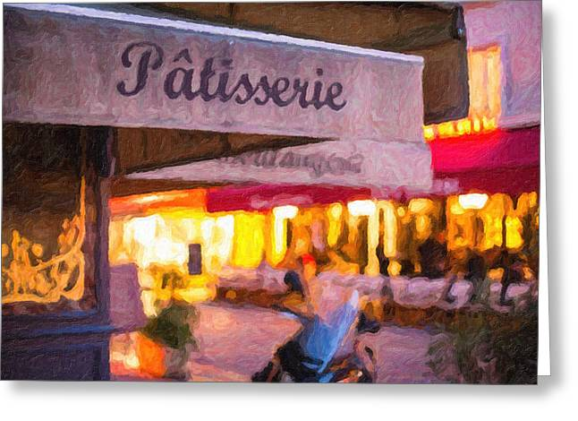 Patisserie - Paris Art Print Greeting Card