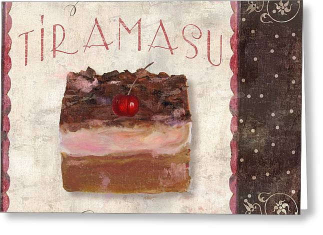 Patisserie Tiramasu  Greeting Card by Mindy Sommers