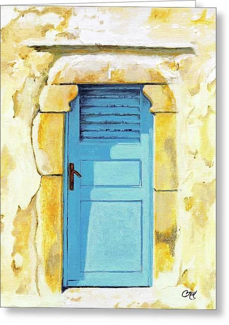Patmos Door Greeting Card