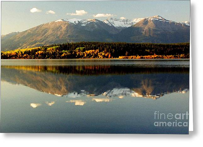 Patricia Lake Greeting Card by Frank Townsley