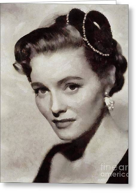 Patricia Neal, Vintage Actress Greeting Card