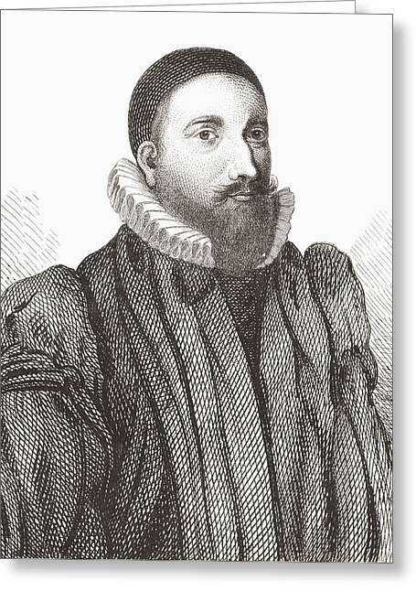 Patrick Forbes, 1564 Greeting Card by Vintage Design Pics