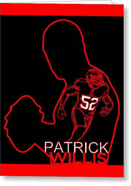 Patrick Willis Greeting Card