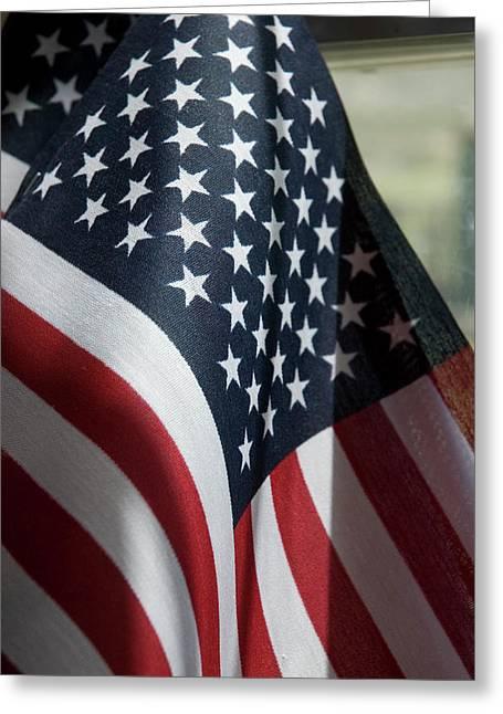 Patriotism Greeting Card by Jerry McElroy