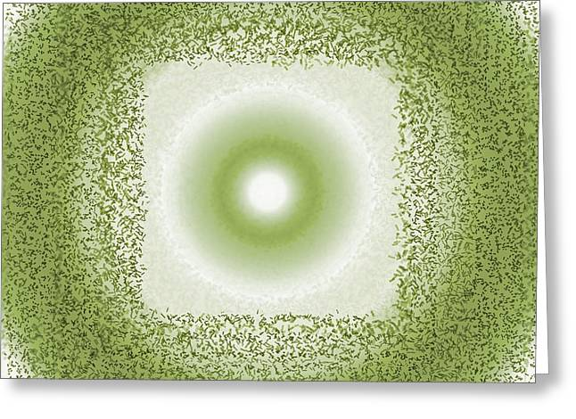 Greeting Card featuring the digital art Pattern 198 by Marko Sabotin