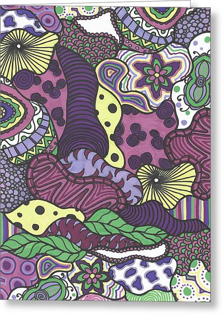 Pattern Jungle Greeting Card