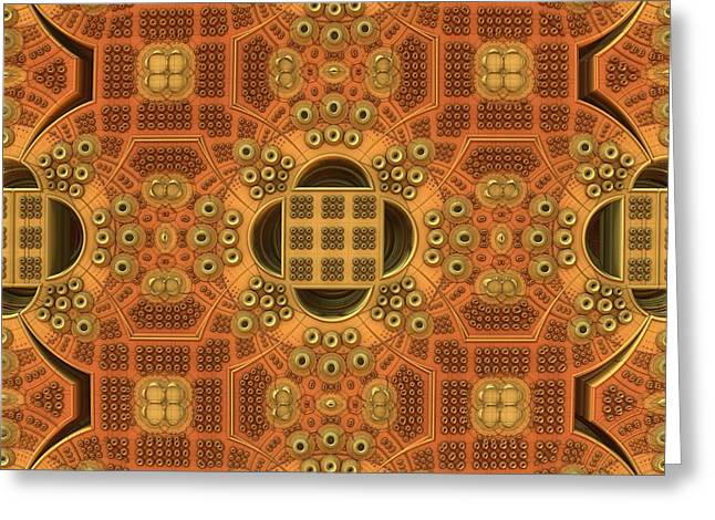 Patterns Within Patterns Greeting Card by Lyle Hatch