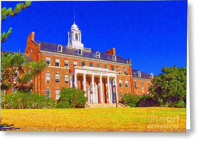 Patterson Hall  Greeting Card
