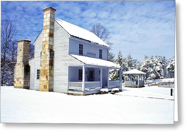 Patterson House Carnifax Ferry Battlefield Greeting Card