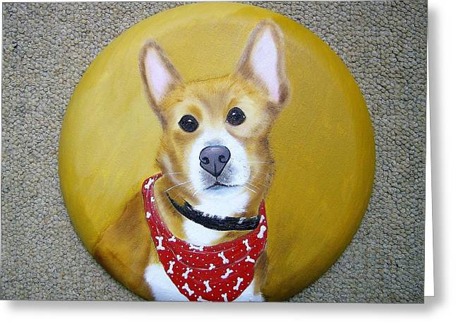 Patti's Grand-dog Greeting Card