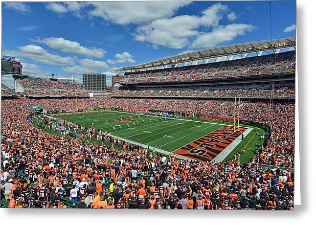 Paul Brown Stadium - Cincinnati Bengals Greeting Card
