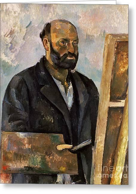 Paul Cezanne (1839-1906) Greeting Card by Granger