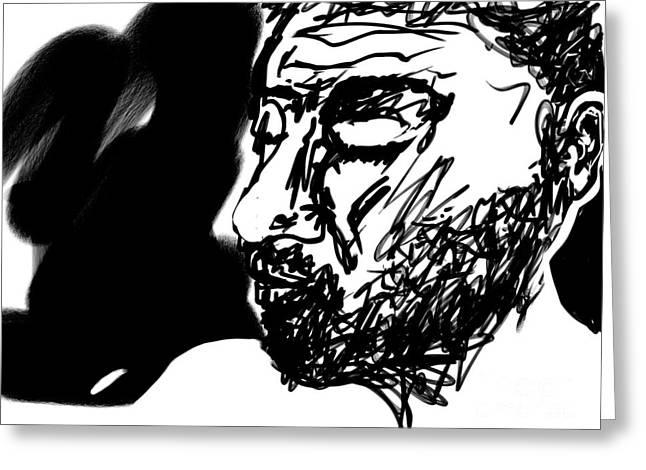 Paul Ramnora Self-portrait Greeting Card
