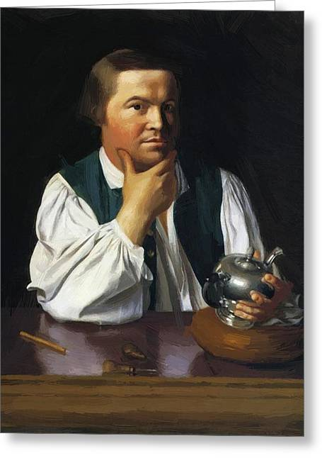 Paul Revere 1770 Greeting Card