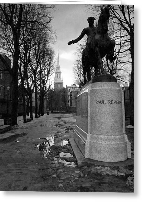Paul Revere Greeting Card by Andrew Kubica