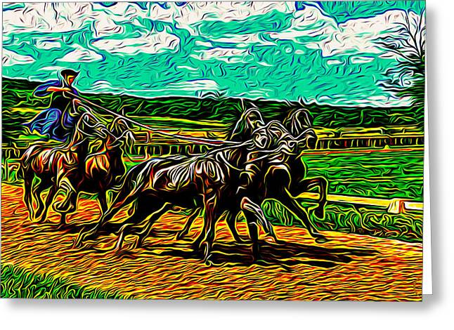 Paul Revere Greeting Card by Rod Mix
