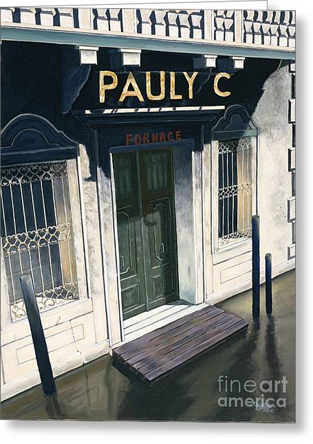 Pauly C. Fornache Greeting Card